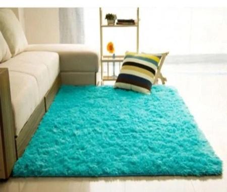Fluffy Soft and Tender Carpet blue 5*8