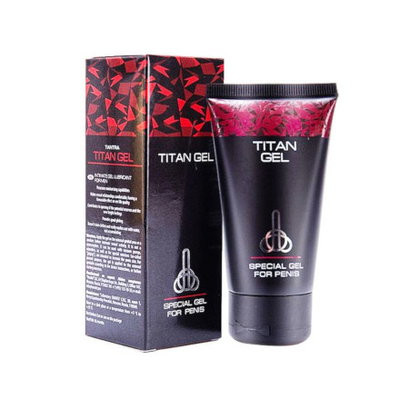 Titan Gel Penis Enlargement And Erectile Dysfunction - 50ml