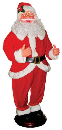 Moving Santa with Music – 120 cm