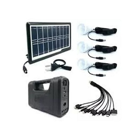 Gd Lite Portable Outdoor Mini DC LED GD LITE 8017 Solar Lighting System