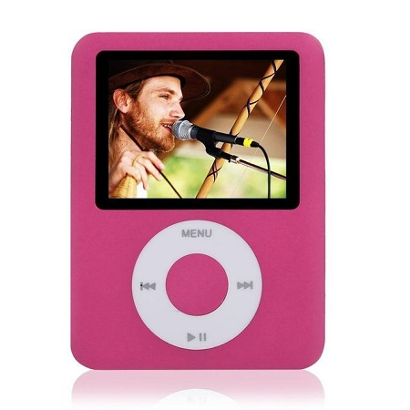New Music MP4 Media Player Digital Display