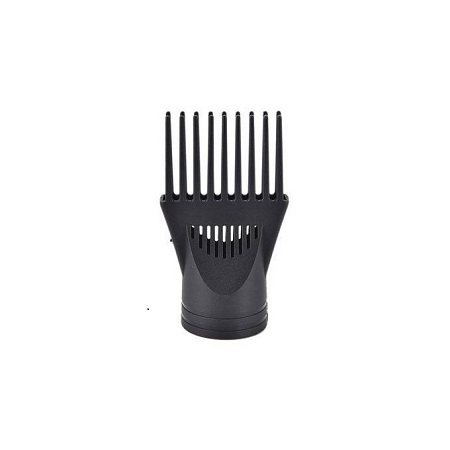 Black Blow Dryer Comb Attachment