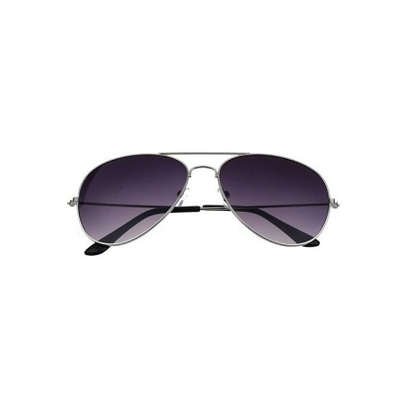 bluerdream-Unisex Retro Sunglasses- Silver