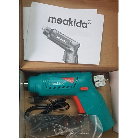 Cordless Drill 100% Copper with Screwdriver Set
