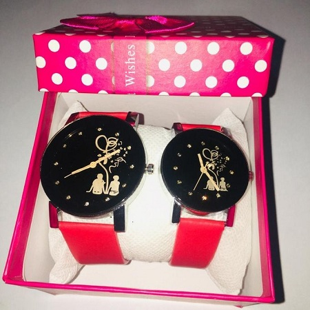 Fashion Couples Leather Watches- FREE Gift Box