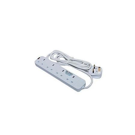 Rk Trust 4 Way Power Extension-white