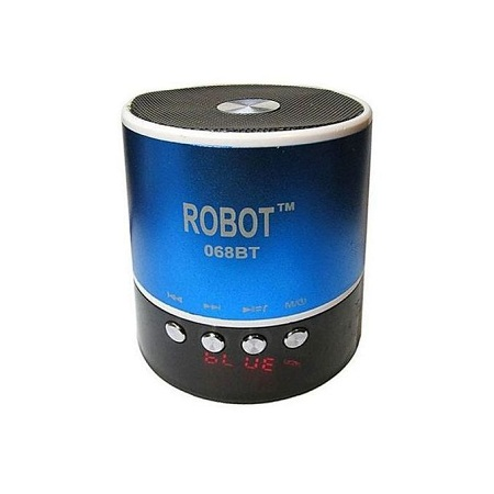 Robot Mini Bluetooth Wireless Stereo Speakers.
