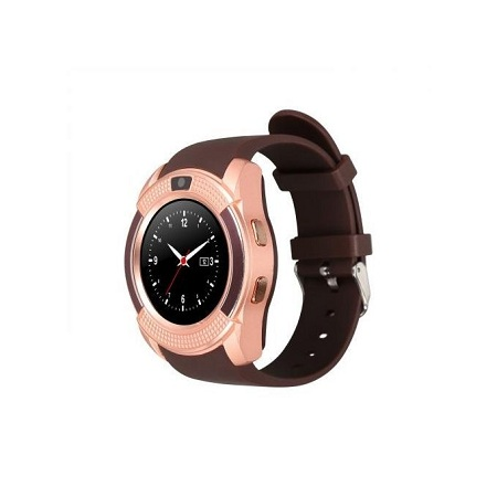 S006 Touch Screen Sports Round Screen Smart Phone Watch