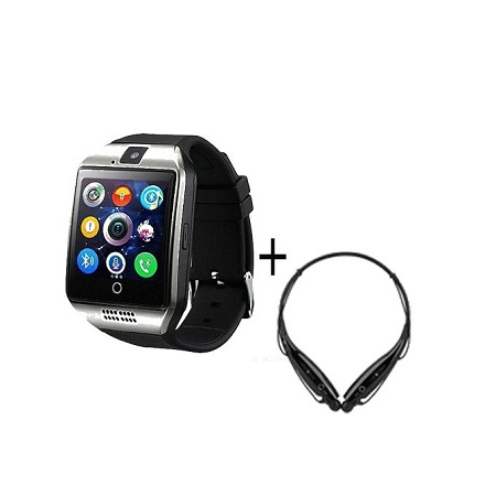 Smart Watch Q18 Android Sim+free Hbs 730 Wireless