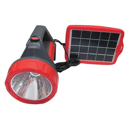 Solar Light Portable Solar Rechargeable Torch Phone Charger