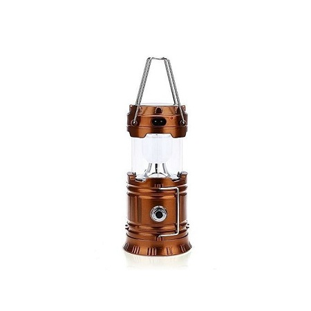 Super Bright Rechargeable Solar Camping Lamp Lantern Light