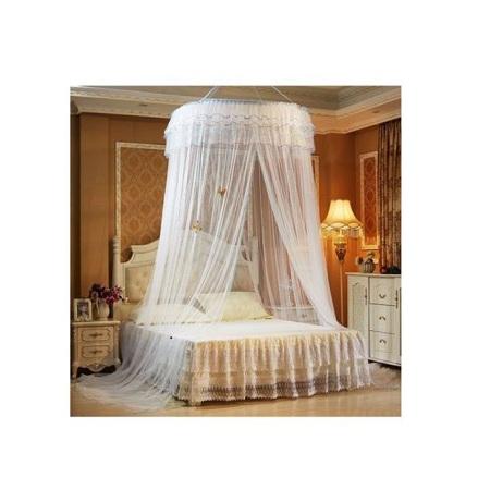 Round Decker Mosquito Net white Free size