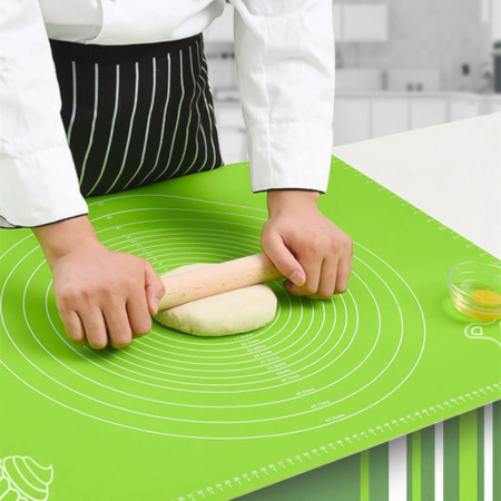 silicon kneading mat