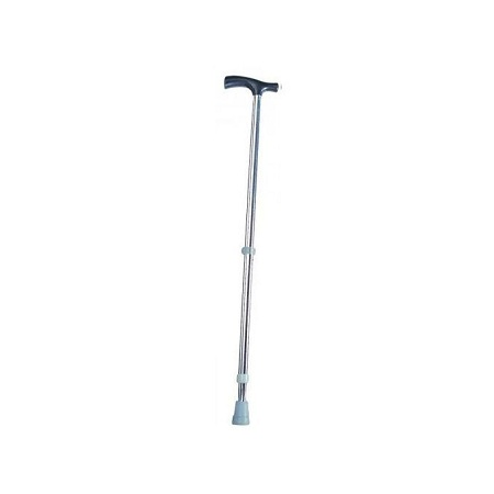 SunPower Adjustable Walking Stick - Stainless Steel