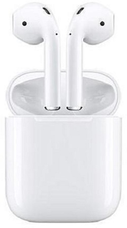 Twin Wireless Headset Double Twins Stereo Music Earbuds white
