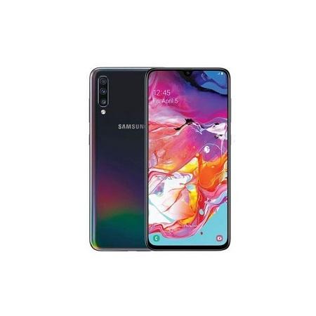 Samsung Galaxy A70, 6.7 Inch, 128 GB + 6 GB (Dual SIM) - Black