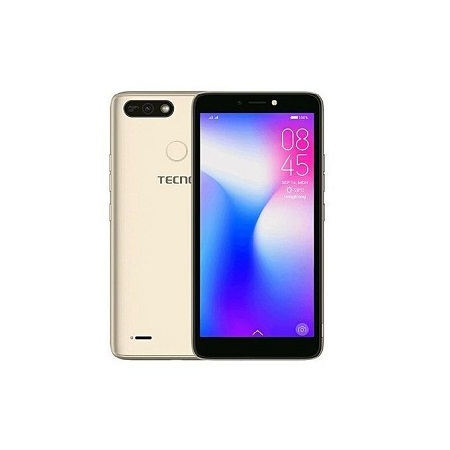 Tecno POP 2 F, 5.5 Inch, 16 GB + 1 GB (Dual SIM) - Black