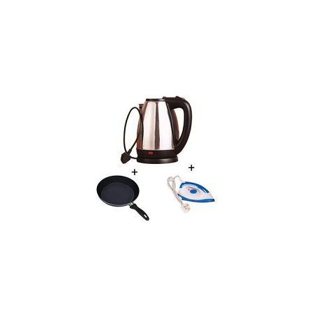 AILYONS Electric Kettle+ Pan+Iron Box