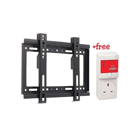 MK Electronics Tv Wall Mount 14-42 Inch + Tv Guard