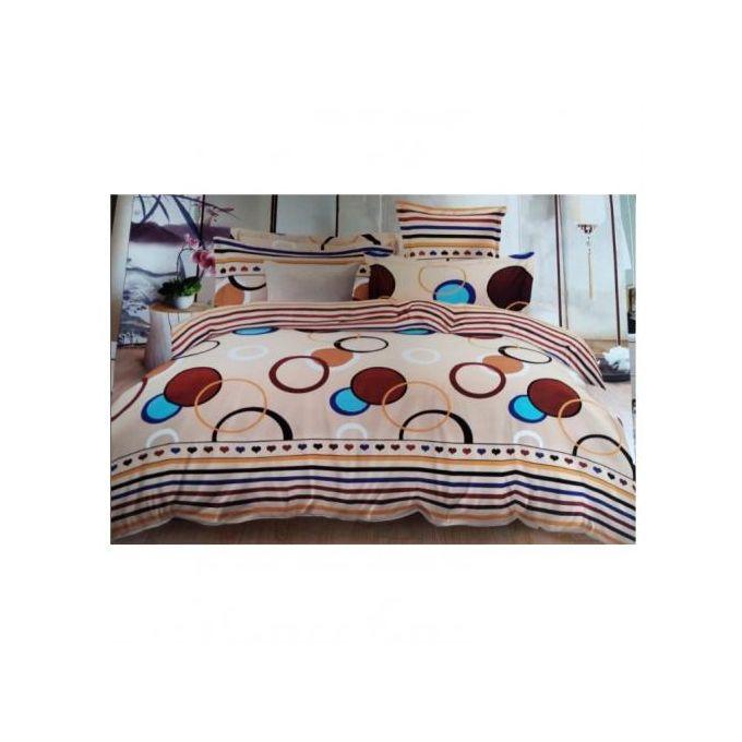 4 Pieces Duvet Set, 1 Duvet, 1 Bedsheet, 2 Pillow Cases