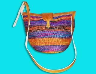 Handmade sisal bag