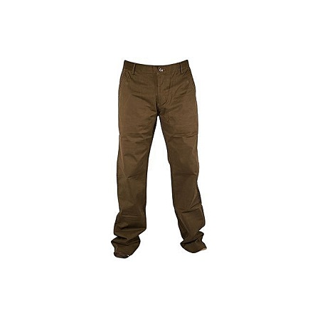 Chocolate Brown Soft Khaki Trouser