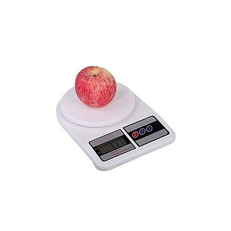 5kg LCD Digital Electronic Kitchen Food Diet Scale Weight Balance – White