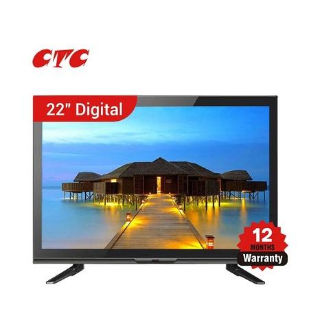 CTC 22 Inch Digital LED TV - Black