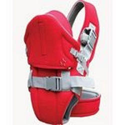 Improved TWO-STRAP comfortable baby carrier (new model) - Blue