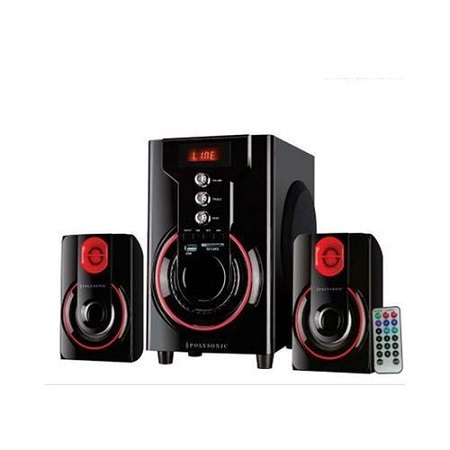 Polysonic mp42 Speaker System- Multimedia subwoofer 5500watts