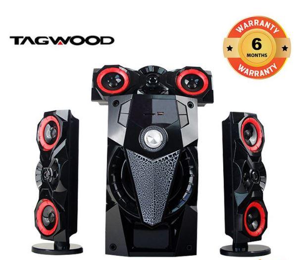 TAGWOOD LS-631B 3.1 SUBWOOFER Black 9800w Pmpo