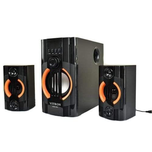 Vitron v5201-2.1CH x-bass Sub woofer-Speaker System 10,000Watts