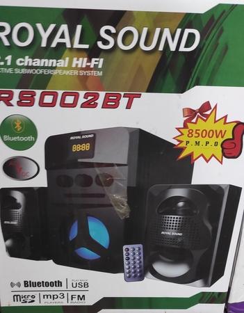 Royal sound RS002BT 8500W P.M.P.O Subwoofer speaker system
