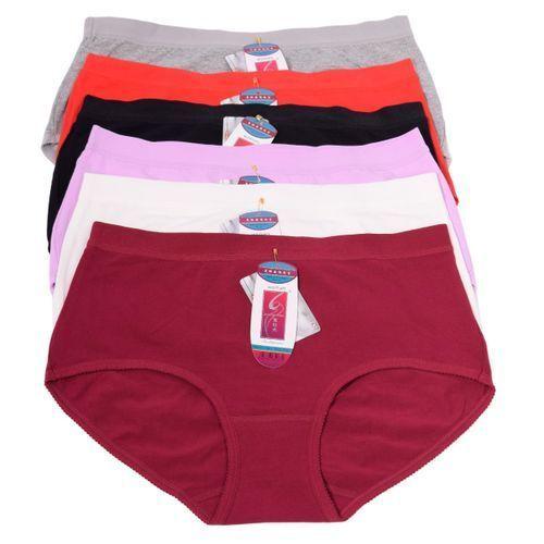 Fashion 6 Pure Cotton Panties-XL