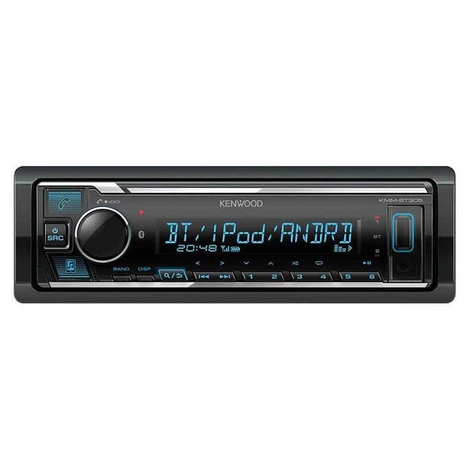KENWOOD KMMBT306 Car Bluetooth Radio.