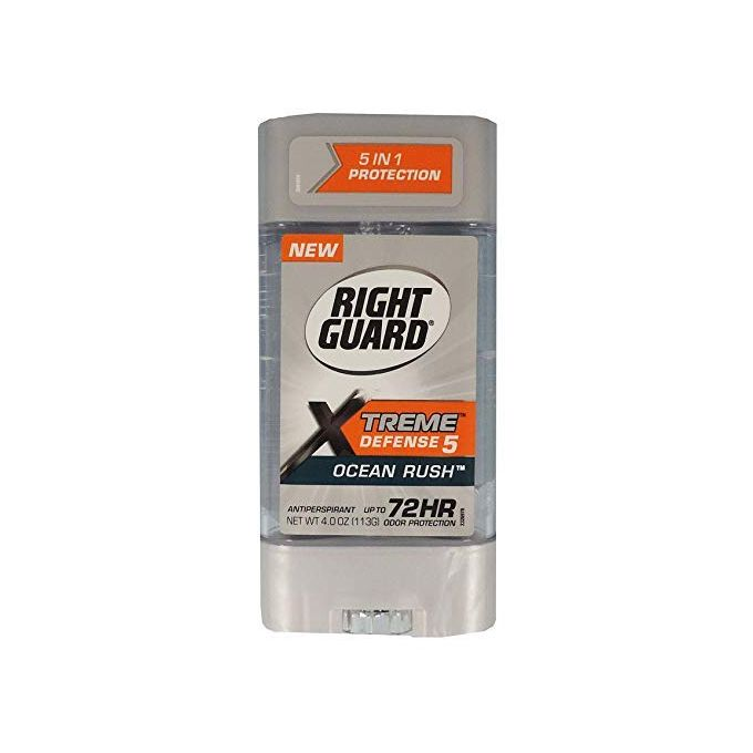 Right Guard XTREME DEFENCE 5 OCEAN RUSH 72 HOUR ANTIPERSPIRANT