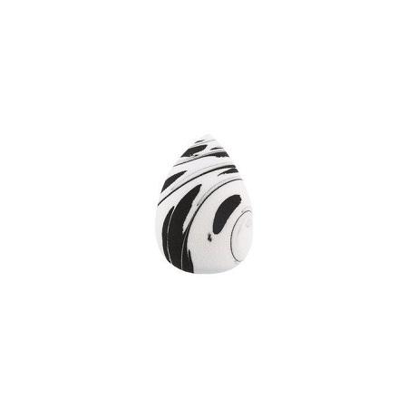 Queen Beauty Sponge- Black& White Marble Oblique