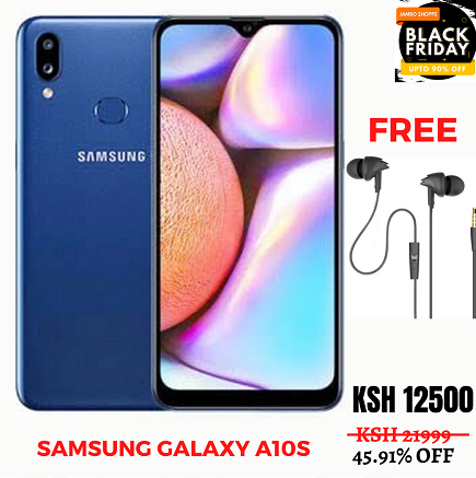 Samsung Galaxy A10S, 6.2 Inch, With Free Earphones - Get 1000 Extra Off Code