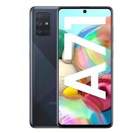 Samsung Galaxy A71 - 6.7 Inch - 8GB RAM + 128GB - Dual SIM - Black