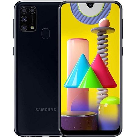 Samsung Galaxy M31, 6.4 Inch, 128GB + 6GB RAM (Dual SIM), 6000mAh, Blue