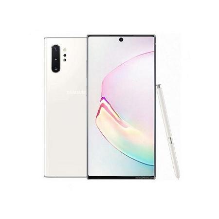 Samsung Galaxy Note 10+ , 6.8 Inch, 256GB - 12GB RAM (Dual SIM) - Aura White