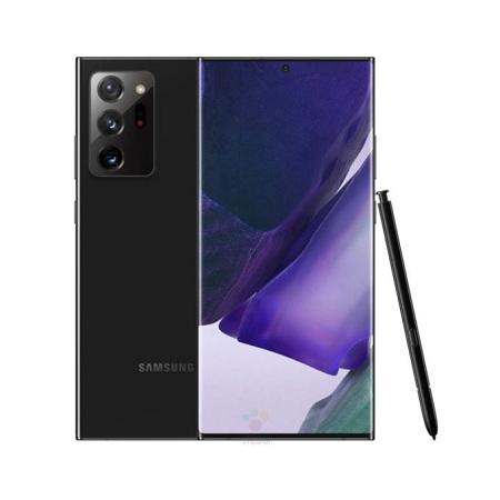 Samsung Galaxy Note 20 Ultra, 6.7 Inch, 256GB + 8GB RAM (Dual SIM), Mystic Black