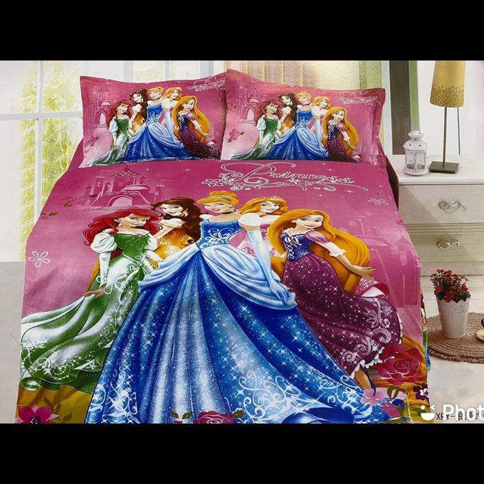 Cartoon Themed Duvet - Princesses