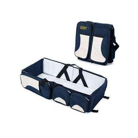 4 in1 Foldable Diaper Bag, Bassinet, travel bag And Change Station