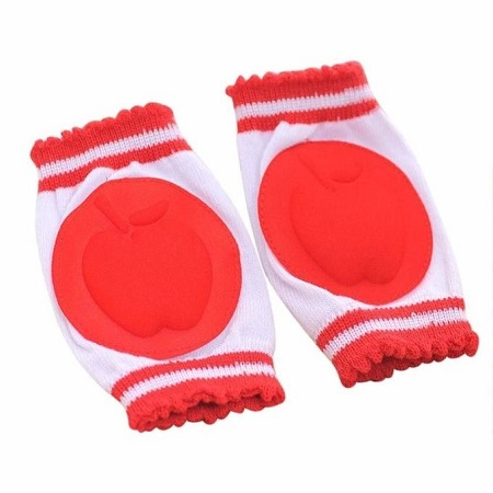 Infant Toddler Baby Knee Pad Crawling Safety Protector - Red