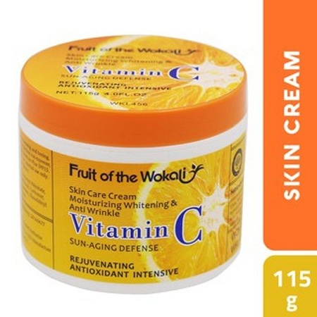 Fruit Of The Wokali Vitamin C Face Cream- 115g