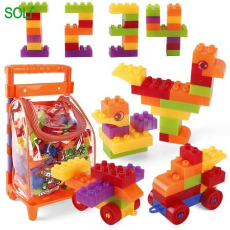 Kids Mini/Small Building Construction Block Toys
