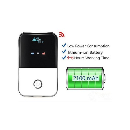 Generic 4G LTE Pocket Wifi Router Car Mobile Wifi Hotspot With Sim Card Slot