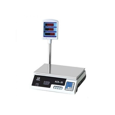 Generic ACS 30kg Electronic Price Computing Weighing Scale