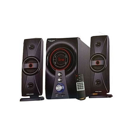 Ampex AX303BT 2.1SPEAKER SYSTEM BLUETOOTH/MICROSD/MP3/USB/FM- 9800W BLACK
